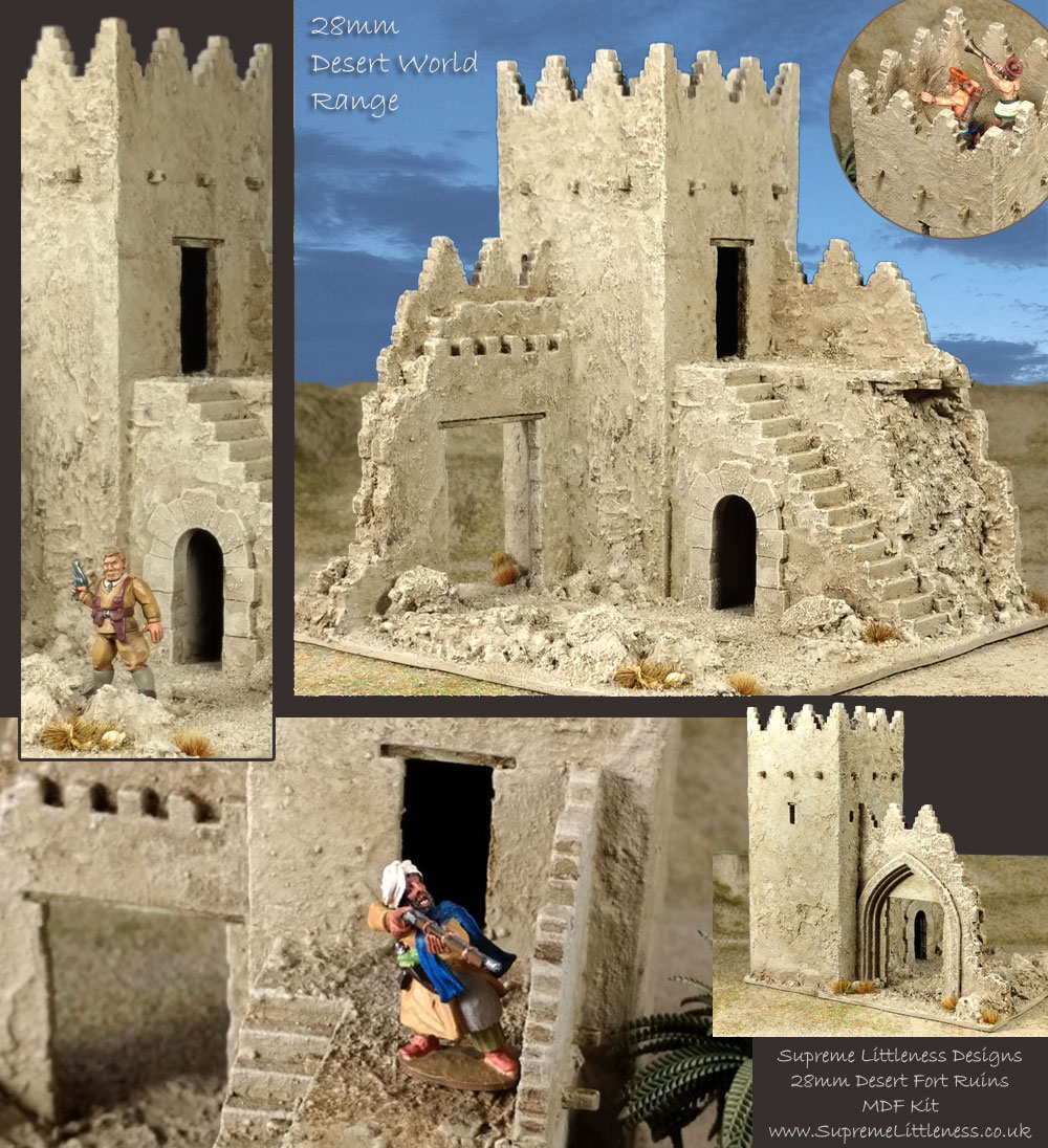 Tmp Quot 28mm Desert Fort Ruins Quot Topic